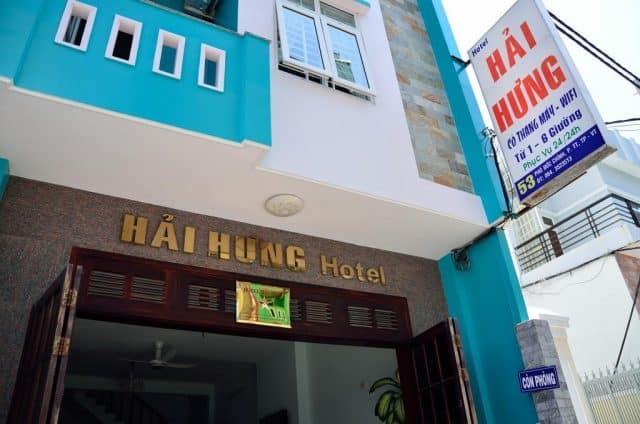 Khách sạn Hải Hưng ở gần Bãi Sau (ảnh ST)