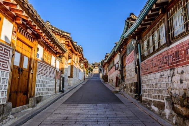 Làng nghề truyền thống Hàn Quốc (Ảnh: ST)