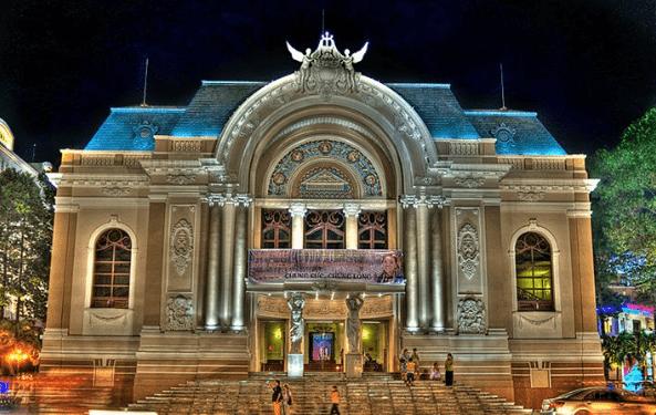 Nhà hát lớn thành phố Hồ Chí Minh (ảnh ST)