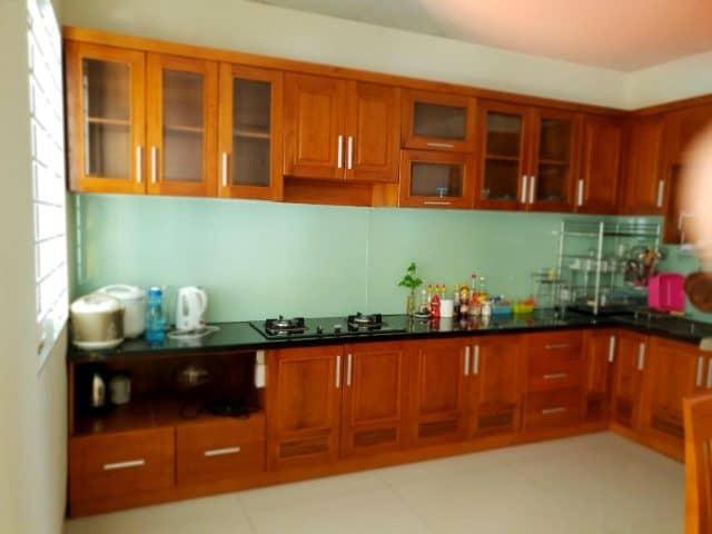 Phòng bếp của homestay (ảnh ST)