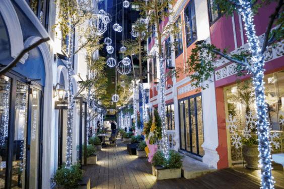Thiết kế hiện đại - hoành tráng của một khu trung tâm thương mại giữa lòng Sài Gòn (ảnh ST)