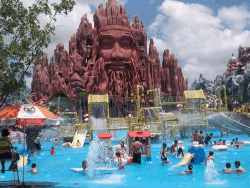 Khu du lịch suối Tiên là lựa chọn dành cho mọi lứa tuổi (ảnh ST)