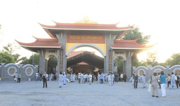 Đến nay, Thiền viện còn là một điểm đến yêu thích của du khách thập phương (Ảnh: sưu tầm)