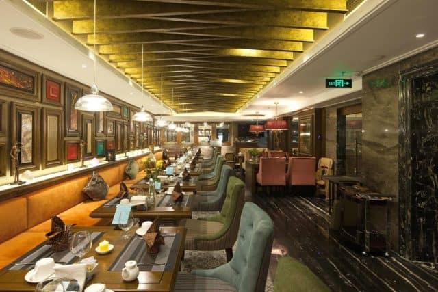 Nhà hàng của khách sạn Hanoi Delano Hotel (ảnh ST)