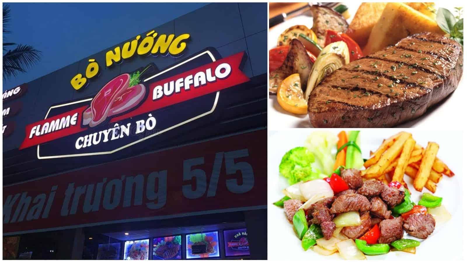 Nhà hàng bò nướng Flamme Buffalo