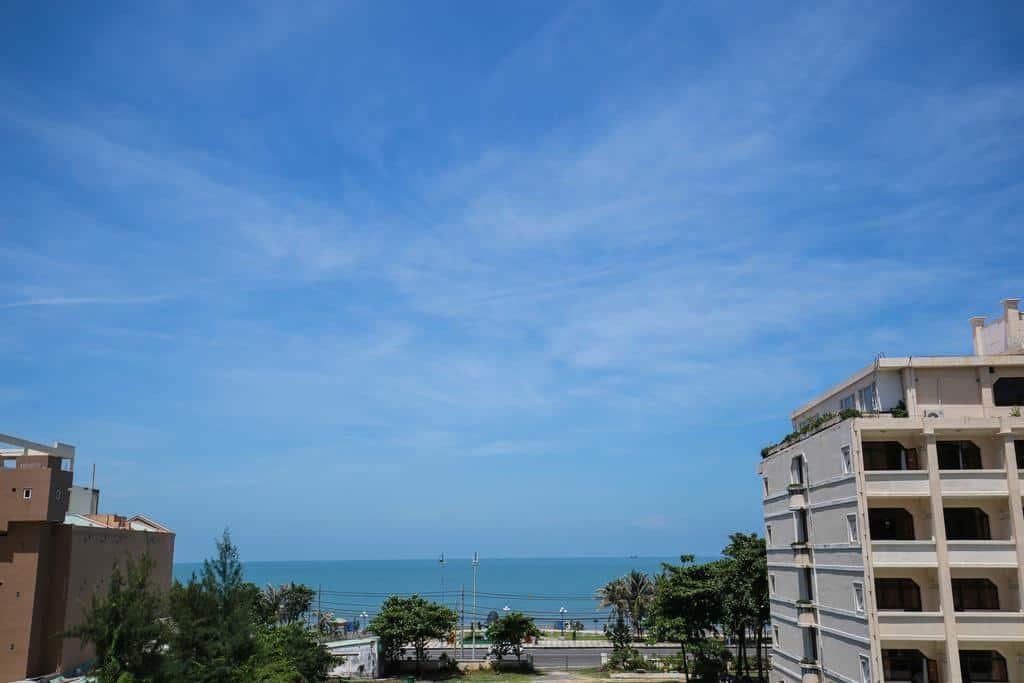 View của khách sạn Bình Minh Vũng Tàu ra biển