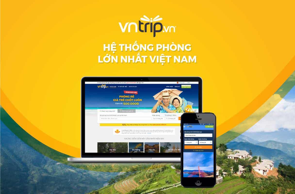 Vntrip.vn được đánh giá là một trong những website đặt phòng uy tín và lớn nhất Việt Nam