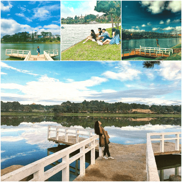 Hồ Xuân Hương - Hồ nước thơ mộng giữa lòng thành phố