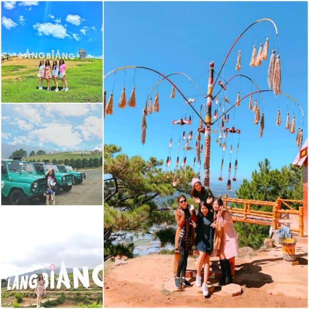 Khu du lịch LangBiang - Nơi có thể ngắm trọn vẹn vẻ đẹp thành phố Đà Lạt