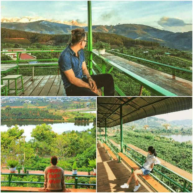 Mê Linh Coffee Garden - Quán cà phê lý tưởng để bạn có thể ngắm cảnh cao nguyên Đà Lạt.