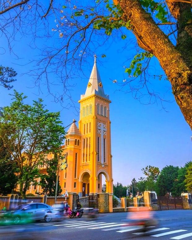 Nhà thờ Con Gà - Nhà thờ Chánh Tòa Đà Lạt.