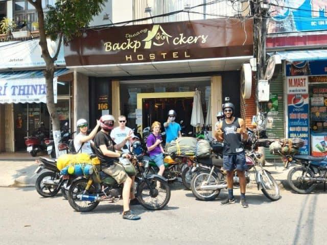 Danang Backpackers Hostel nhà nghỉ rẻ gần cầu sông Hàn